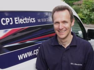chris jamieson md of CPJ electrics